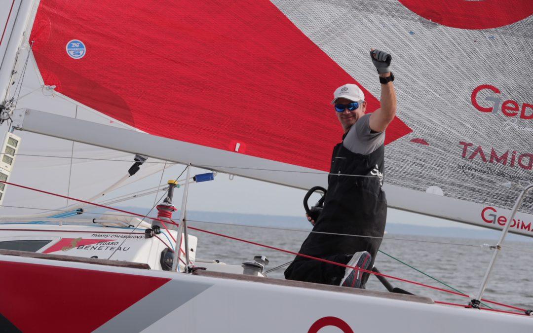 Thierry Chabagny (Gedimat) remporte le parcours construit du jour !